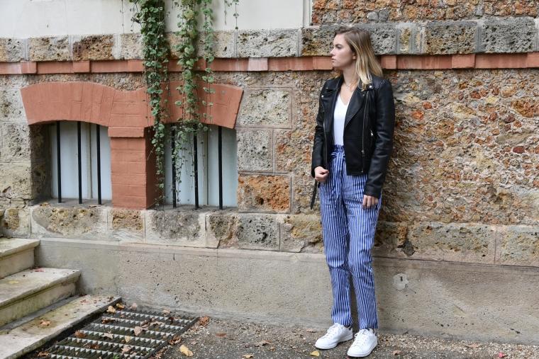 pantalon shein rayure 003