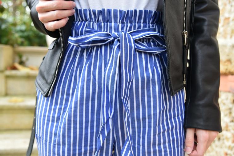 pantalon shein rayure 005