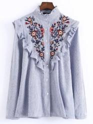 http://fr.shein.com/Blue-Vertical-Striped-Flower-Embroidered-Ruffle-Shirt-p-329525-cat-1733.html?utm_source=fromkat.com&utm_medium=blogger&url_from=fromkat