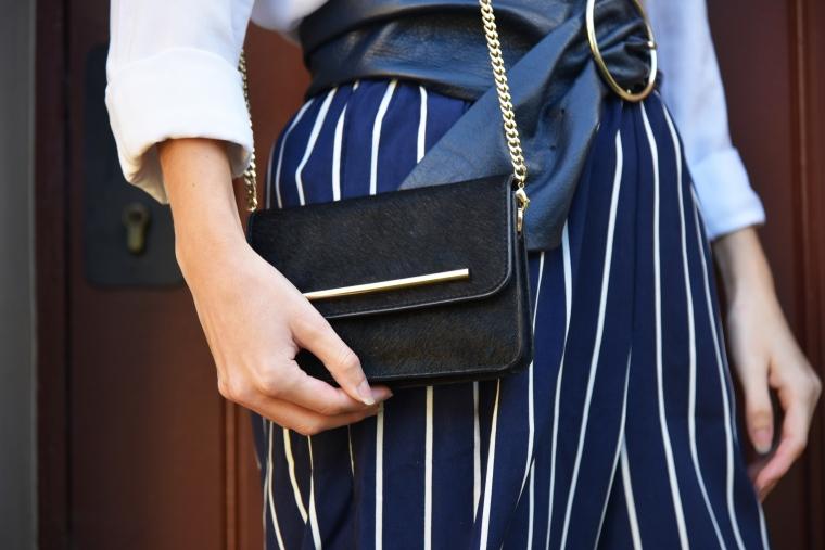 pantalon rayure bleu marine shein 004