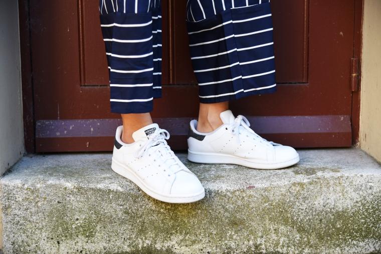 pantalon rayure bleu marine shein 006