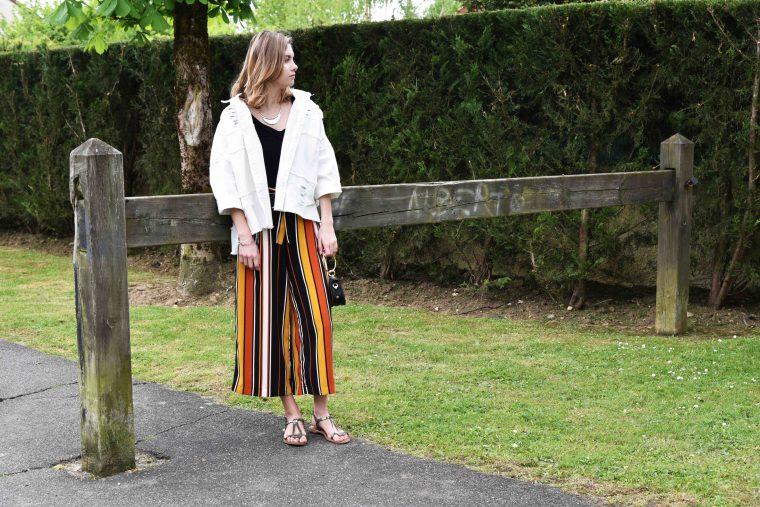 Vest jean blanches shein 001