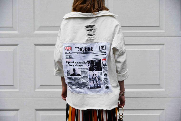 Vest jean blanches shein 007
